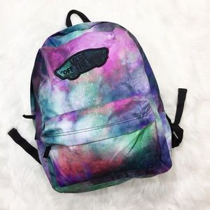 Vans Space Galaxy Backpack Unisex Boys Girls
